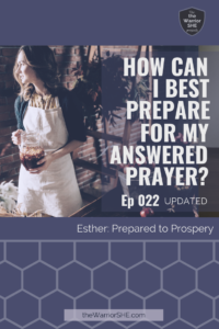 022.U.Prepare Prayer.PIN